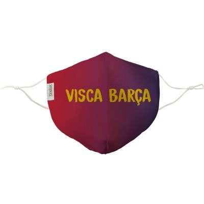 Mascarilla Visca Barça