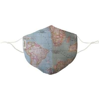 Mascarilla Mapa Mundi